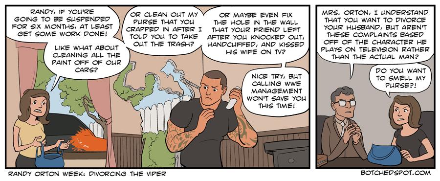 Randy Orton Week: Divorcing the Viper