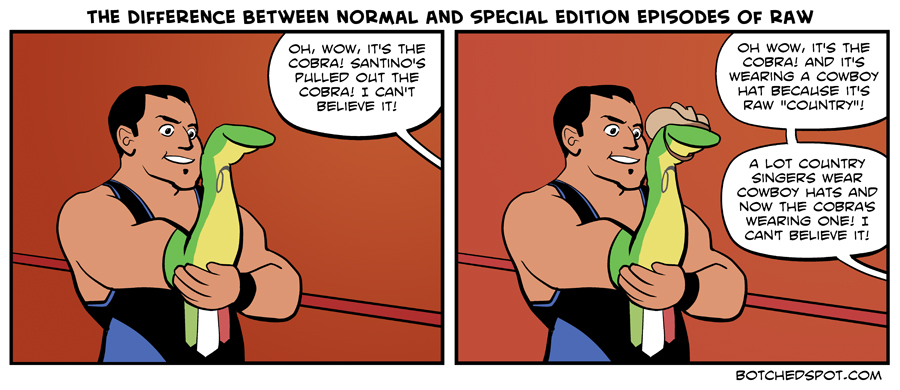 The Difference Between Normal and Special Editions of Raw