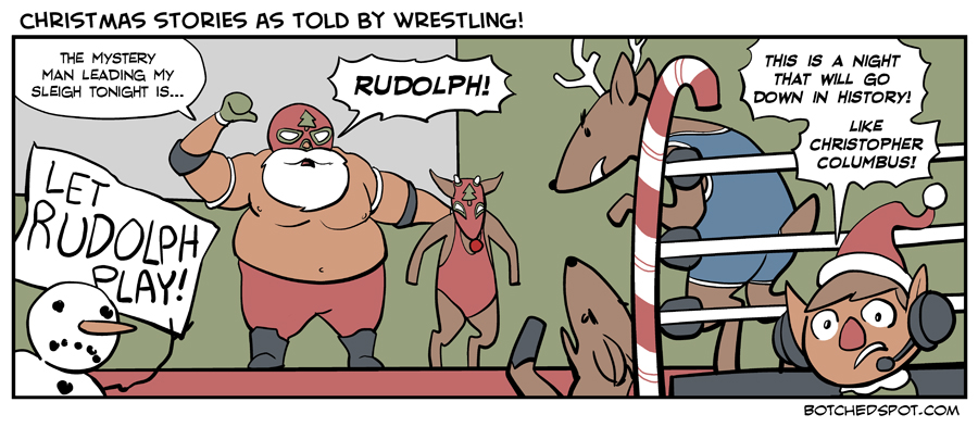 Christmas Stories as Told by Wrestling!