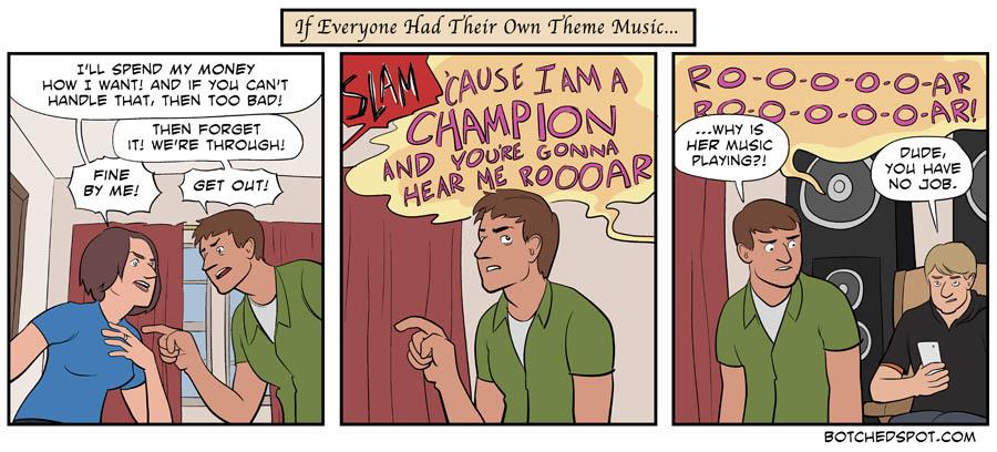If Everyone Had Their Own Theme Music