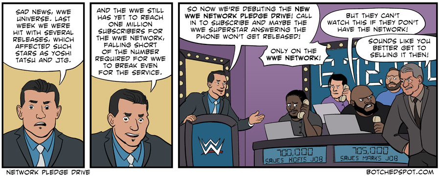 WWE Network Pledge Drive