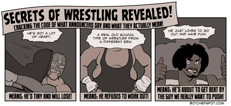 Secrets of Wrestling Revealed