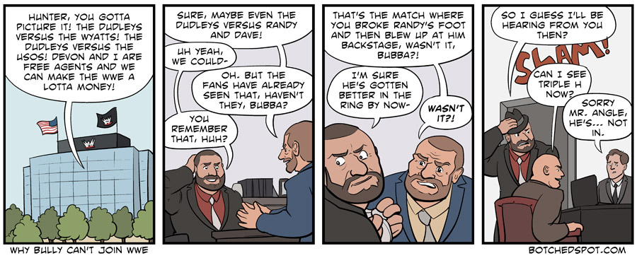 Why Bully Can't Join WWE