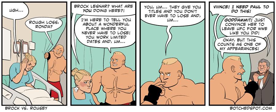 Brock vs. Rousey