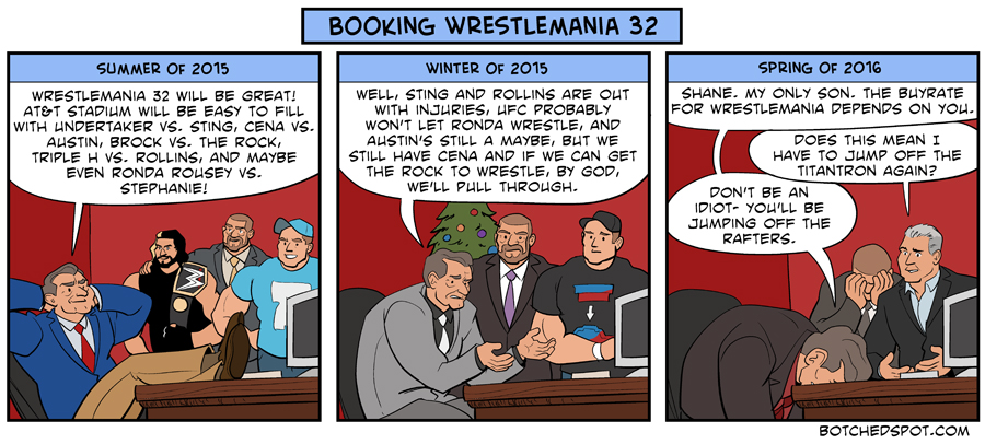 Booking Wrestlemania 32