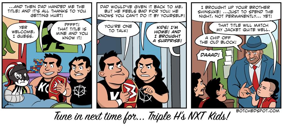 Triple H's NXT Kids!