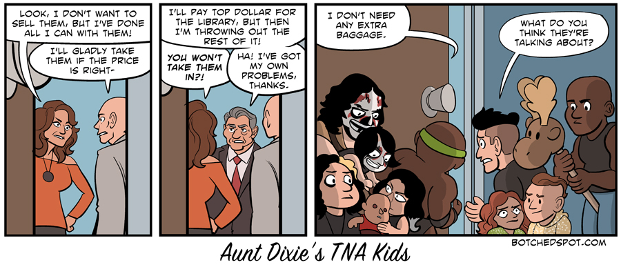 Aunt Dixie's TNA Kids