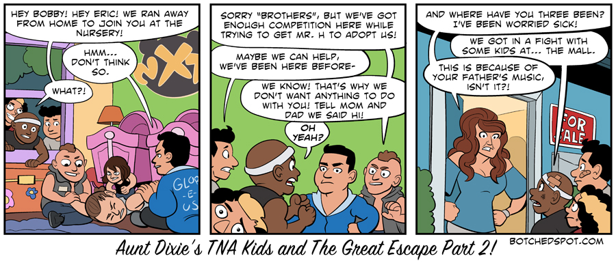 Aunt Dixie's TNA Kids and The Great Escape Part 2!