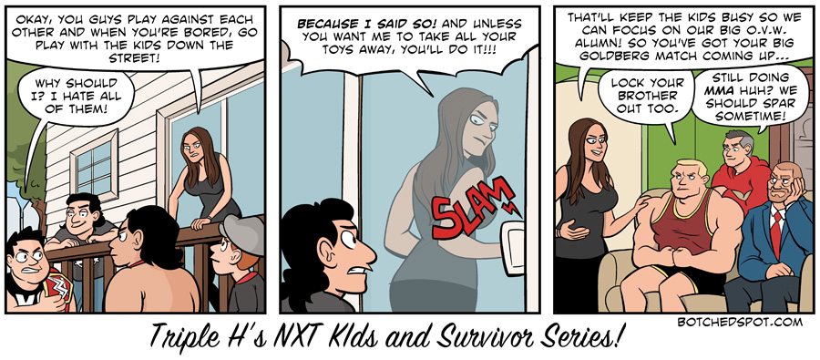 Triple H's NXT Kids and Survivor Series by BotchedSpot.com