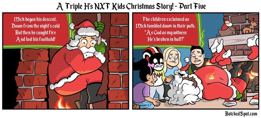 A Triple H's NXT Kids Christmas Story, Part Five!