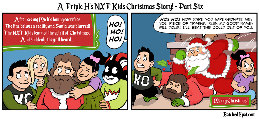 A Triple H's NXT Kids Christmas Story, Part Six!