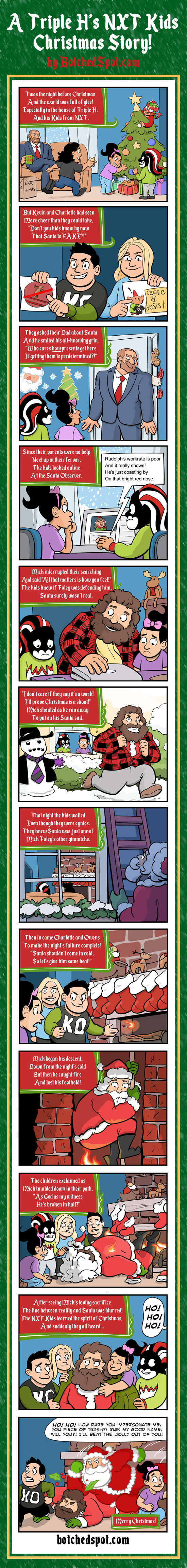 A Triple H's NXT Christmas Story!