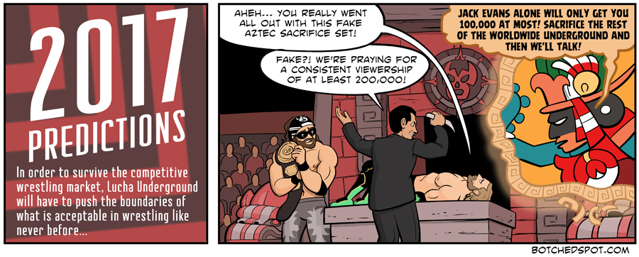 2017 Lucha Underground Predictions