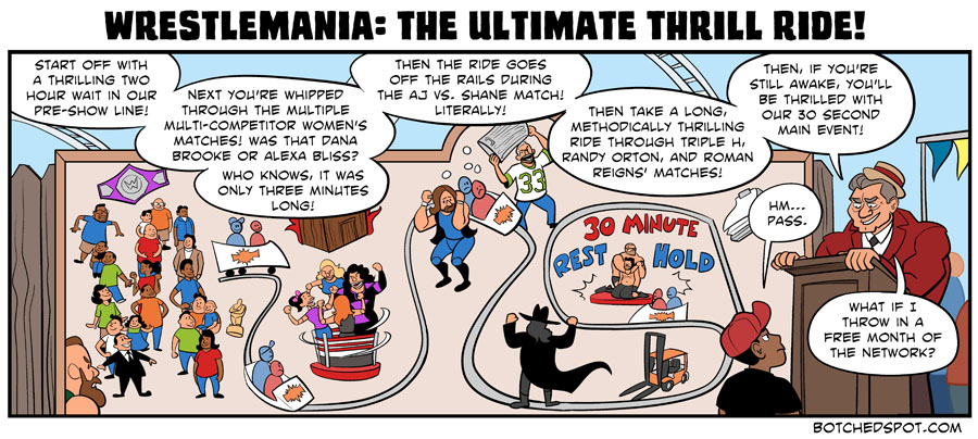 Wrestlemania: The Ultimate Thrill Ride!