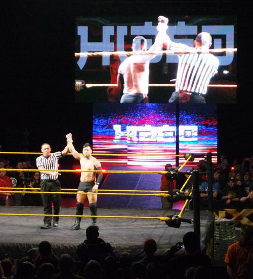 NXT Hideo