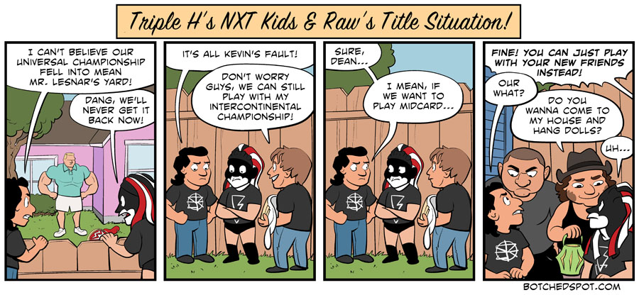 Triple H's NXT Kids & Raw's Title Situation!