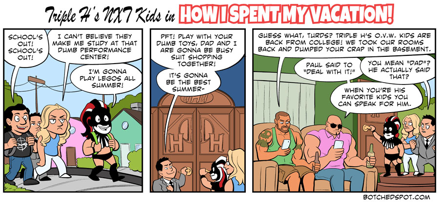 Triple H's NXT Kids in How I Spent My Vacation, Part 1