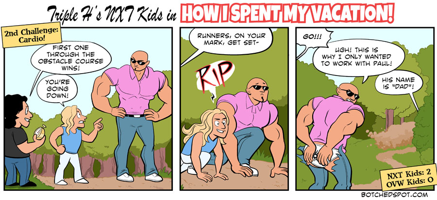 Triple H's NXT Kids in How I Spent My Vacation, Part 4