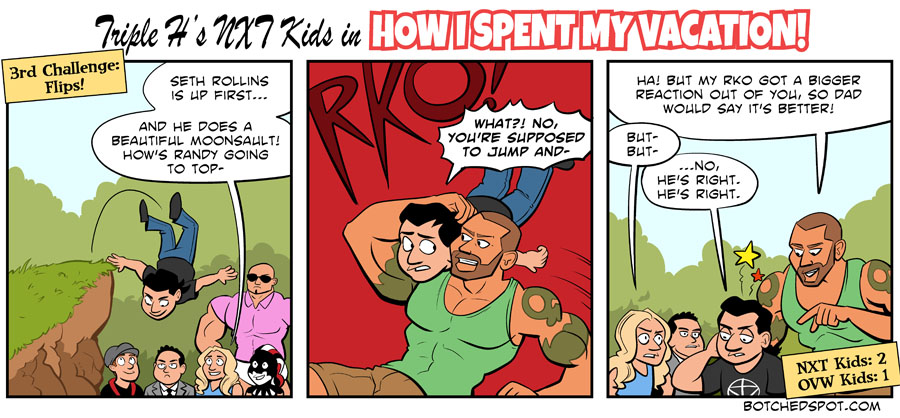 Triple H's NXT Kids in How I Spent My Vacation, Part 5