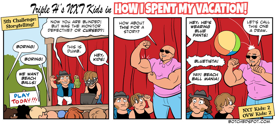 Triple H's NXT Kids in How I Spent My Vacation, Part 7
