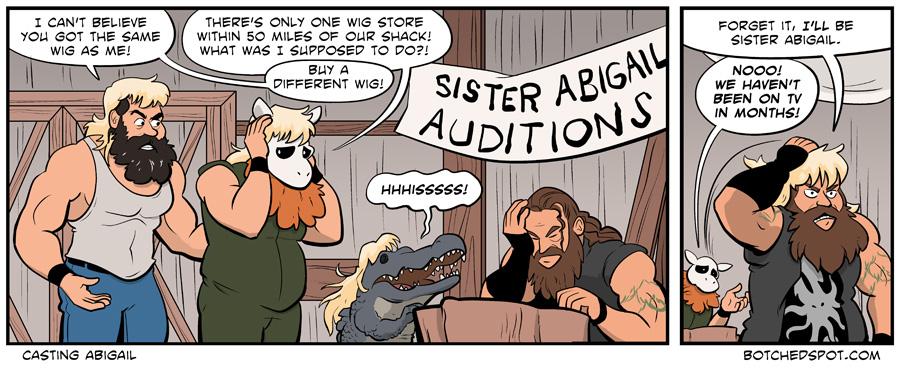 Casting Abigail