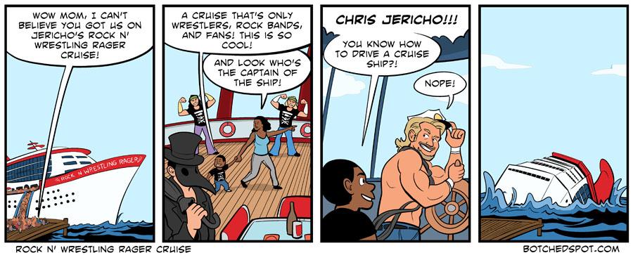 Rock n' Wrestling Rager Cruise
