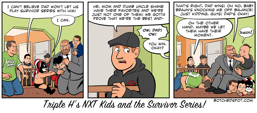 Triple H's NXT Kids and the Survivor Series!
