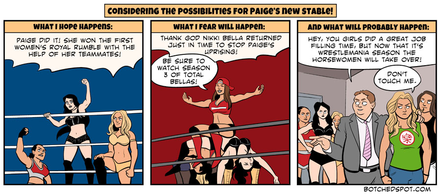 Considering the Possibilities for Paige's New Stable…