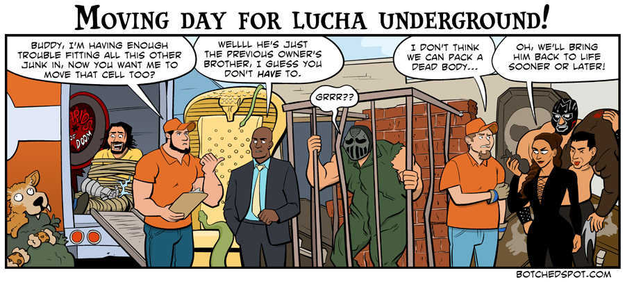 Moving Day for Lucha Underground!