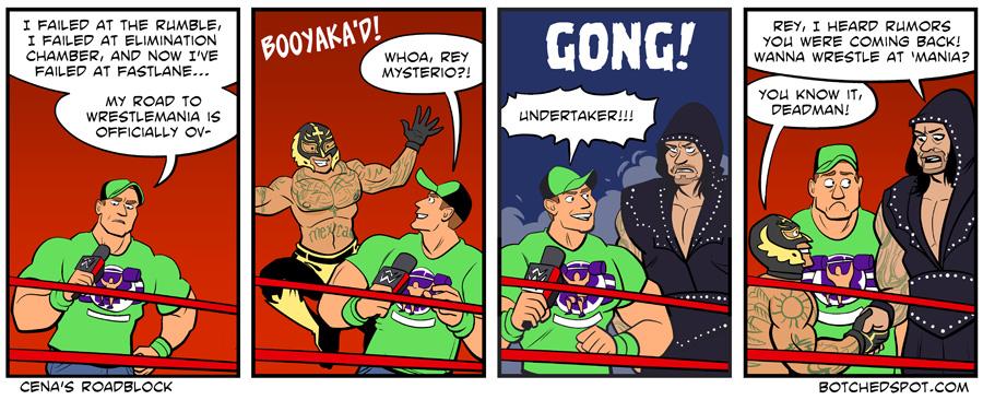 Cena's Roadblock