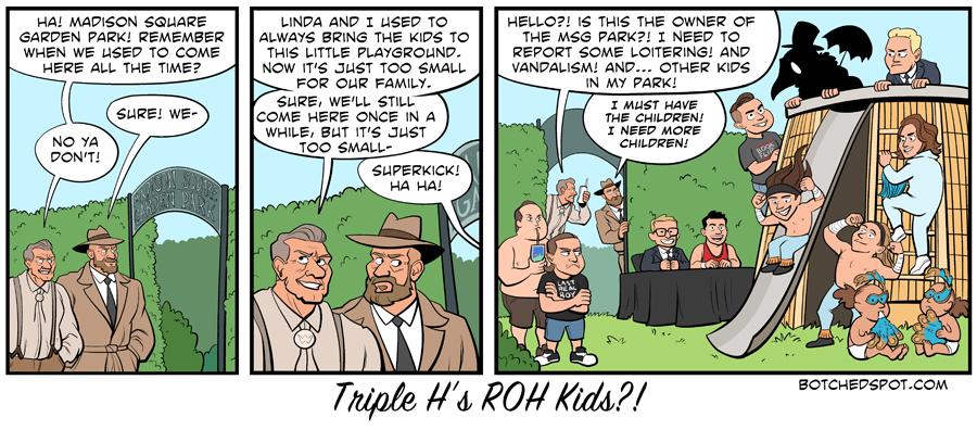 Triple H's ROH Kids?!