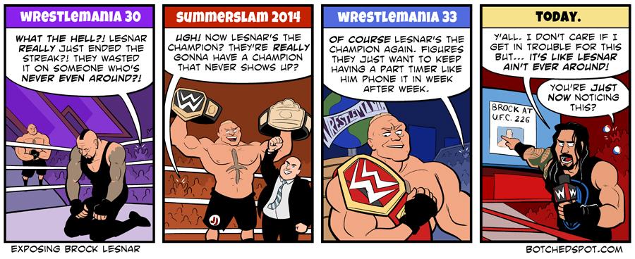 Exposing Brock Lesnar