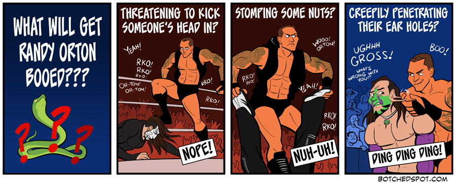 What Will Get Randy Orton Booed?