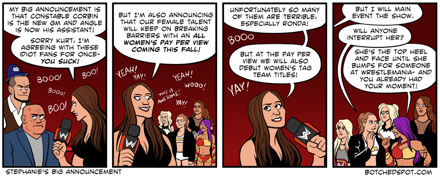 Stephanie's Big Announcement