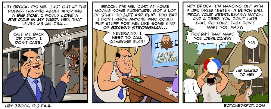 Hey Brock, It's Paul