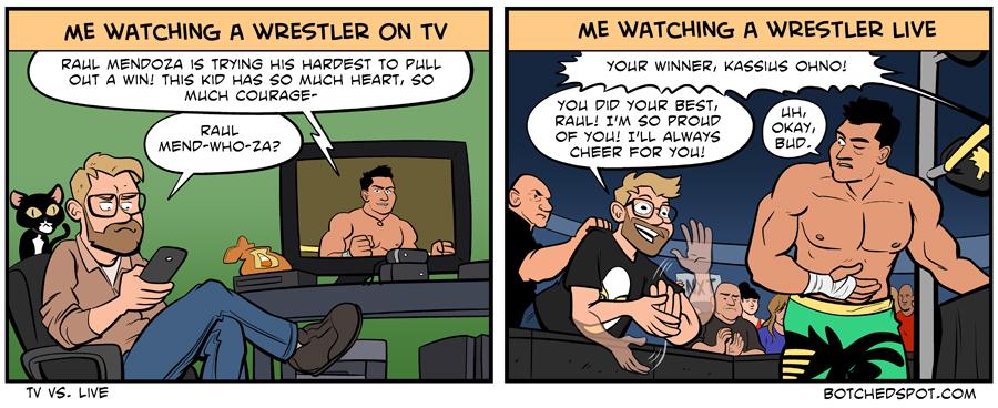 TV vs. Live