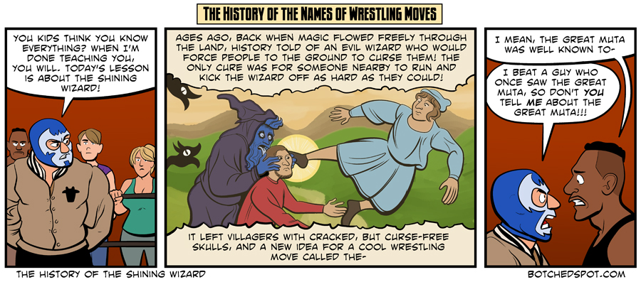 The History of the Shining Wizard