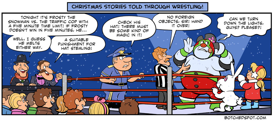 Christmas Stories Told Through Wrestling- Frosty the Snowman